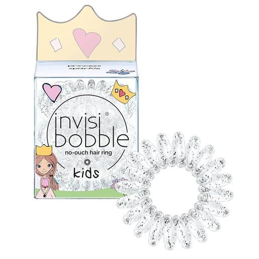 Invisibobble Hair Rings Kids Princess Sparkle Παιδικό Λαστιχάκι Μαλλιών 3 Τεμάχια