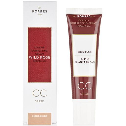 Korres Wild Rose CC Cream Spf30 30ml