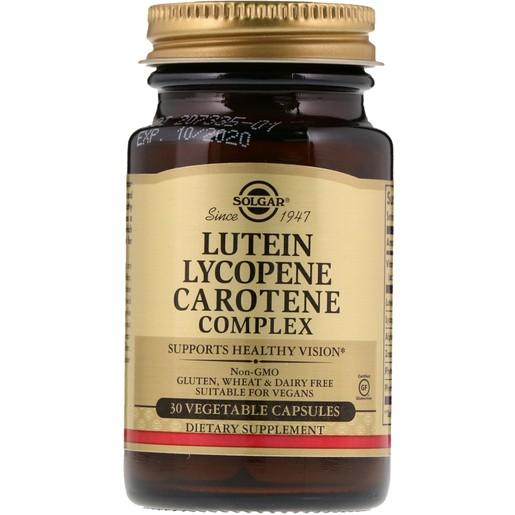 Solgar Lutein Lycopene Carotene Complex 30 veg.caps