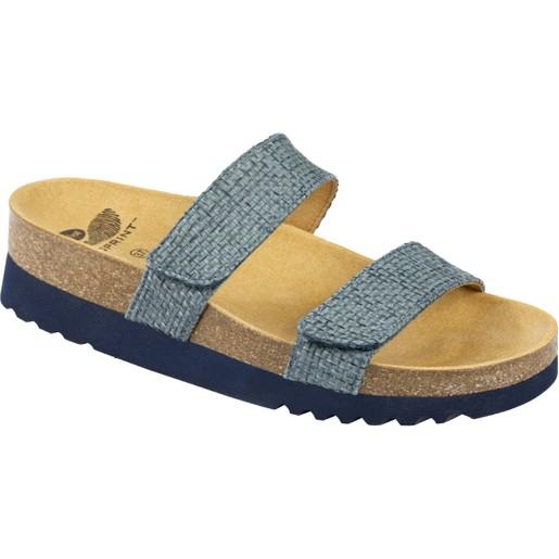 Scholl Shoes Lusaka Μπλε Denim Γυναικεία Ανατομικά Παπούτσια Χαρίζουν Σωστή Στάση & Φυσικό Χωρίς Πόνο Βάδισμα 1 Ζευγάρι