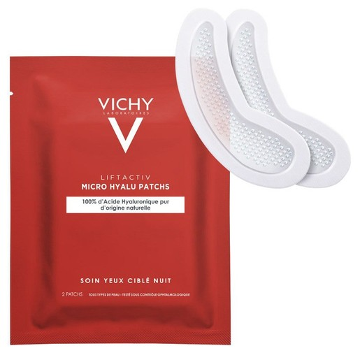 Vichy Liftactiv Specialist Micro Hyalu Patches Ματιών με Υαλουρονικό Οξύ 2Patches
