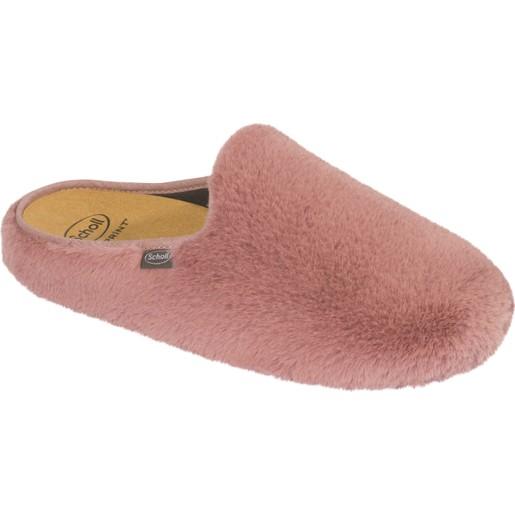 Scholl Shoes Maddy Rose Γυναικείες Παντόφλες Ροζ 1 Ζευγάρι