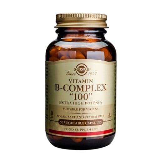 Solgar Formula B- Complex 100mg veg.caps