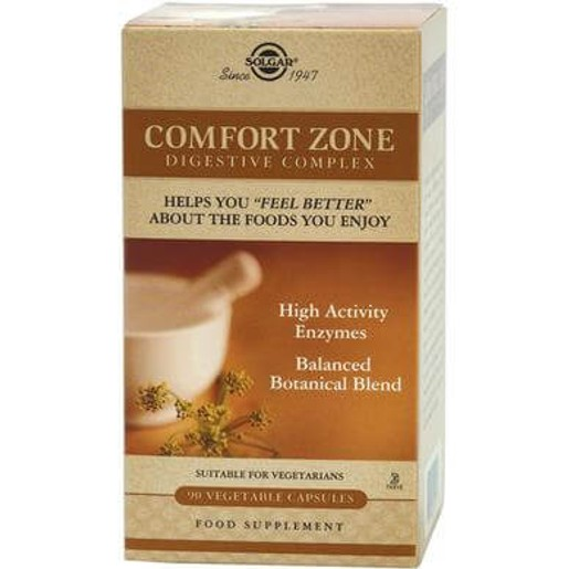 Solgar Comfort Zone Digestive Complex 90 caps