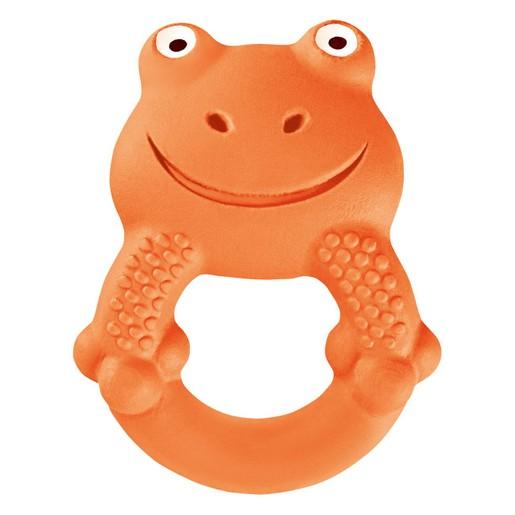 Mam Max The Frog Χειροποίητο Μασητικό Παιχνίδι Max το Βατραχάκι από Φυσικό Latex Κωδ 592 από 4+ Μηνών 1 Τεμάχιο