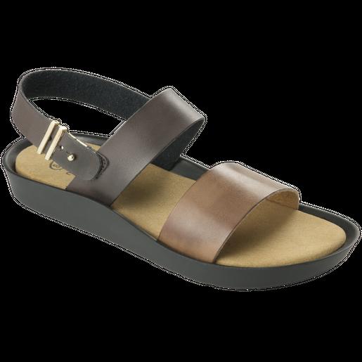 Dr Scholl Shoes Mamore Σκούρο Καφέ-Καφέ Γυναικεία Ανατομικά Παπούτσια Χαρίζουν Σωστή Στάση & Φυσικό Χωρίς Πόνο Βάδισμα 1 Ζευγάρι