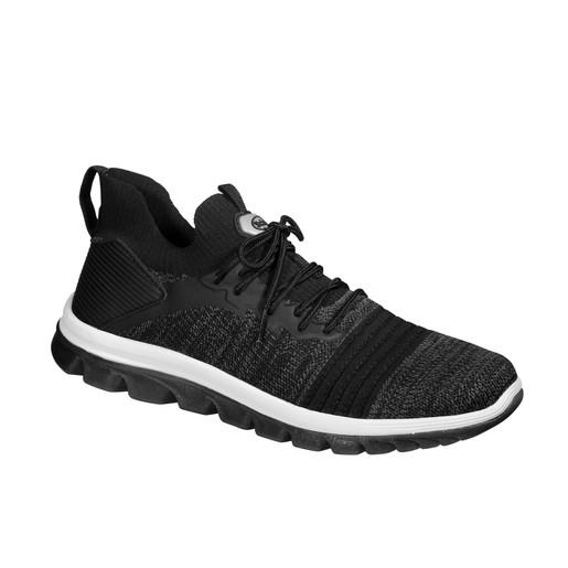 Scholl Shoes Markus Black Μαύρο Ανατομικά Παπούτσια, Χαρίζουν Σωστή Στάση & Φυσικό, Χωρίς Πόνο Βάδισμα 1 Ζευγάρι