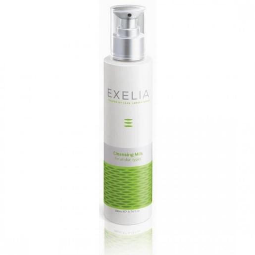 Exelia Cleansing Milk (for all skin types) Λαμπερό Και Καθαρό Δέρμα 200ml