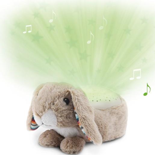 Zazu Ruby Rabbit Μουσικός Προτζέκτορας Αστεριών Νανουρίσματος