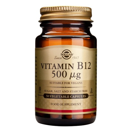 Solgar Vitamin  B12 (κοβαλαμίνη) 50 veg.caps