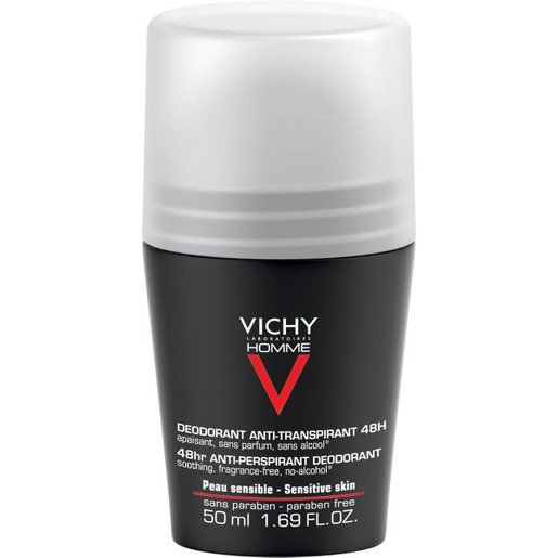 Vichy Homme Deodorant Bille 48h 50ml