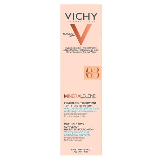 Vichy MineralBlend Make Up Fond de Teint Hydratant Ενυδατικό Foundation για Φυσική Κάλυψη & Επιδερμίδα Γεμάτη Φρεσκάδα 30ml