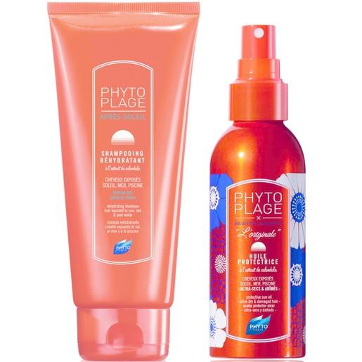 Phyto Πακέτο Προσφοράς Phytoplage Shampoo 200ml & Protective Sun Oil 100ml σε Προνομιακή Τιμή