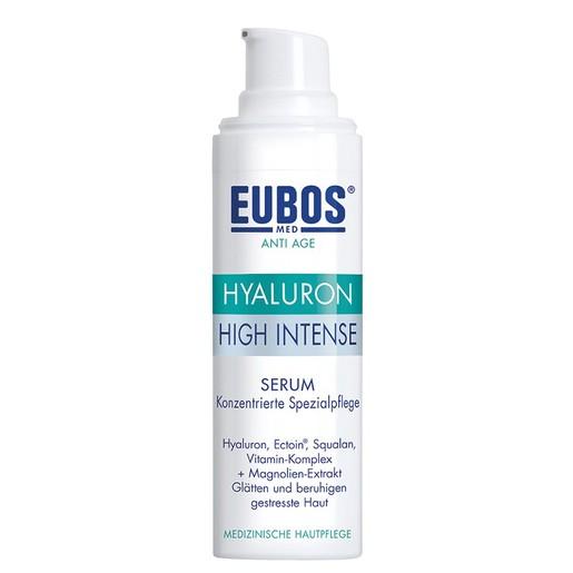 Eubos Hyaluron High Intense Serum Αντιρυτιδικός Ορός Προσώπου Υψηλής Συγκέντρωσης 30ml