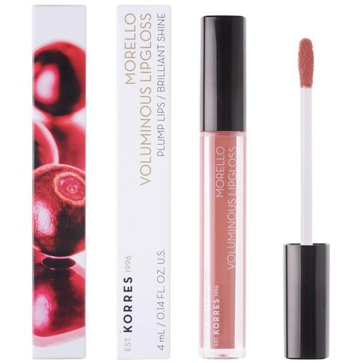 Korres Morello Voluminous Lipgloss Brilliant Shine 4ml