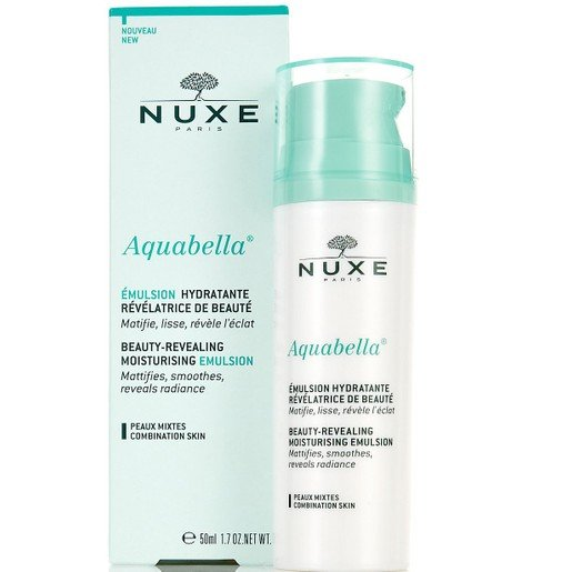 Nuxe Aquabella Beauty-Revealing Moisturising Emulsion Ενυδατική Κρέμα Ελαφριάς Υφής για Κανονικές - Μικτές Επιδερμίδες 50ml