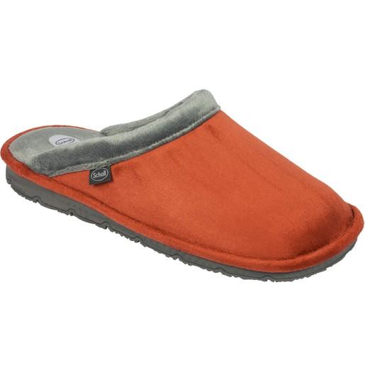 Scholl Shoes New Brienne Κεραμιδί / Γκρι Ανατομικές Παντόφλες Εξαιρετικά Άνετες, Εύκαμπτες και Απαλές 1 Ζευγάρι