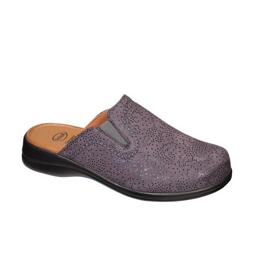 Scholl Shoes New Toffee Grey Γυναικείες Παντόφλες Γκρι 1 Ζευγάρι