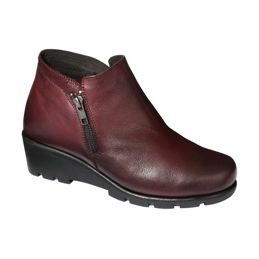 Scholl Shoes Noale Wine Γυναικείο Παπούτσι Μπορντώ 1 Ζευγάρι