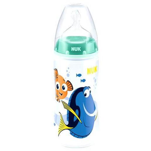 NUK First Choice Plus Disney Μπιμπερό Finding Dory Πόλυπροπυλενίου (ΡΡ) Θηλή Σιλικόνη 300ml