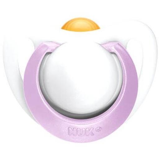 Nuk Genius Πιπίλα Καουτσούκ με Κρίκο 0-2 Μηνών 1τμχ