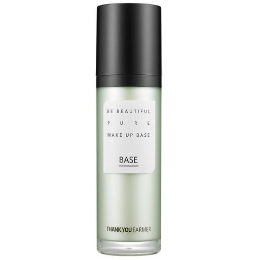 Thank You Farmer Be Beautiful Pure Makeup Base Βάση Make up, Διορθώνει τον Τόνο της Επιδερμίδας & Αφήνει Φυσικό Αποτέλεσμα 40ml