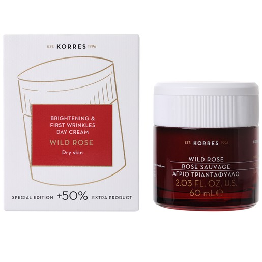 Korres Wild Rose Face Cream 60ml