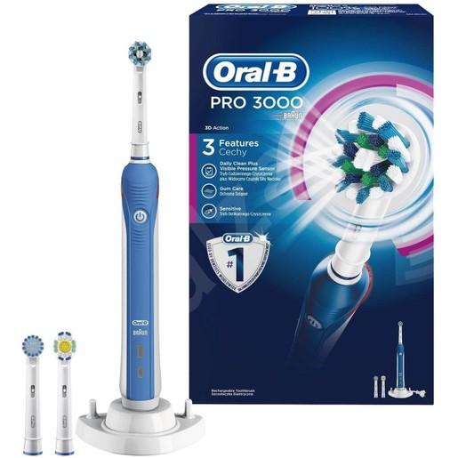 Oral-B Pro 3000 3D Action Ηλεκτρική Οδοντόβουρτσα