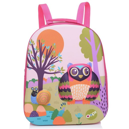 Oops Happy Backpack Forest Σακίδιο Πλάτης Δάσος