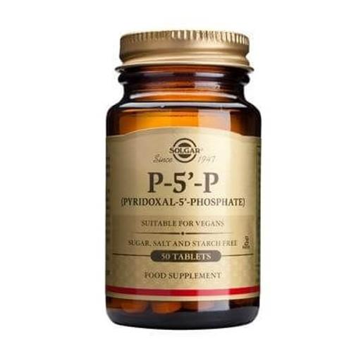 Solgar P-5-P (Pyridoxal-5-Phosphate) 50mg tablets
