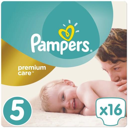 Premium Care No5 (11-18kg) 16 πάνες - Pampers