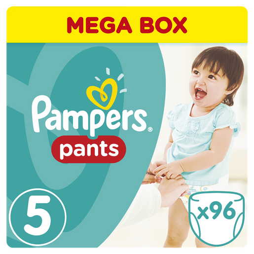 Pants Mega Box No5 Junior (12-18kg) 96 πάνες - Pampers