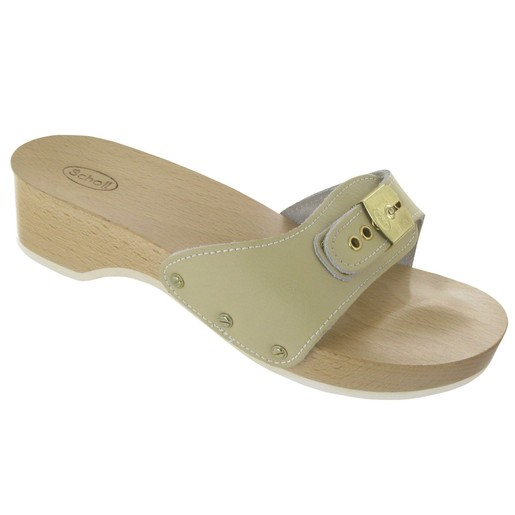 Scholl Shoes Pescura Heel Ζαχαρί Γυναικεία Ανατομικά Παπούτσια Χαρίζουν Σωστή Στάση & Φυσικό Χωρίς Πόνο Βάδισμα 1 Ζευγάρι