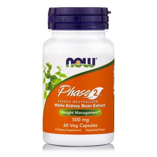 Now Foods Phase 2® 500mg Starch Neutrilizer Διαιτητική Φόρμουλα Δέσμευσης του Αμύλου απ\' τις Τροφές 60 VegCaps