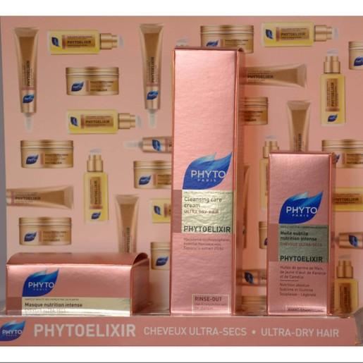 Phyto Travel Set PhytoElixir Huile Subtile 10ml & Cleansing Care Cream 30ml & Masque Nutrition 50ml