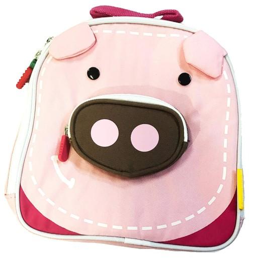 Marcus & Marcus Insulated Lunch Bag 3+ Ισοθερμική Παιδική Τσάντα Γεύματος Γουρουνάκι