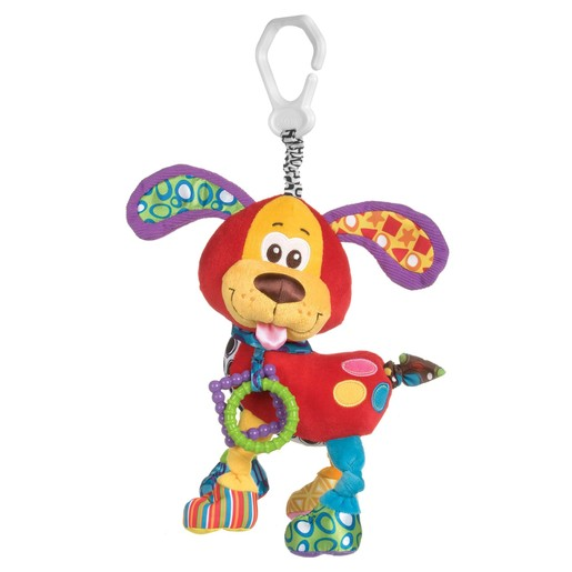 Playgro Activity Friend Pooky Puppy 0m+ BPA Free Κρεμαστό Παιχνίδι Δραστηριοτήτων Κουτάβι