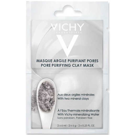 Masque Argile Purifiant Pores 2x6ml - Vichy