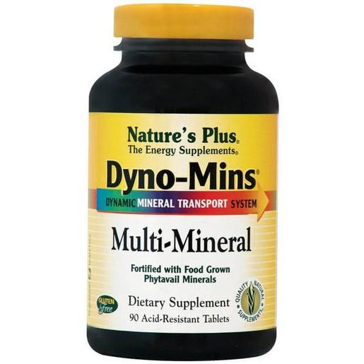 Nature\'s Plus Multi Mineral Dyno-Mins Συμπλήρωμα Διατροφής για την Εξασφάλιση της Υγείας των Οστών 90 Tablets