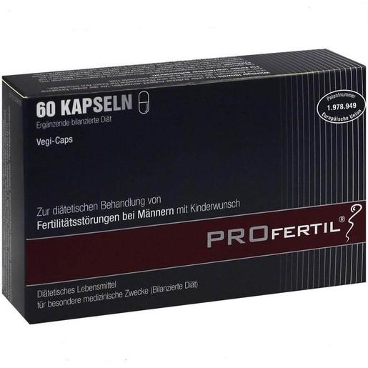 Profertil Male Ισχυρό Συμπλήρωμα Διατροφής για την Αντιμετώπιση της Ανδρικής Υπογονιμότητας, Αγωγή 1 Μήνα 60 tabs