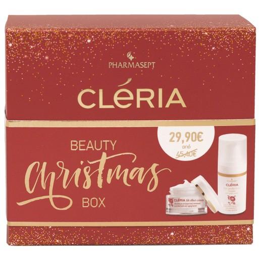 Pharmasept Cleria Beauty Christmas Box Lift Effect Cream Αντιγηραντική για Ώριμες Επιδερμίδες 50ml & Eye Perfection Cream 15ml