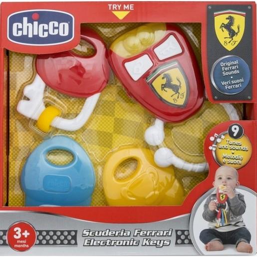 Chicco Κλειδιά με Χειροκίνητες Δραστηριότητες για Ηλικίες 3m+