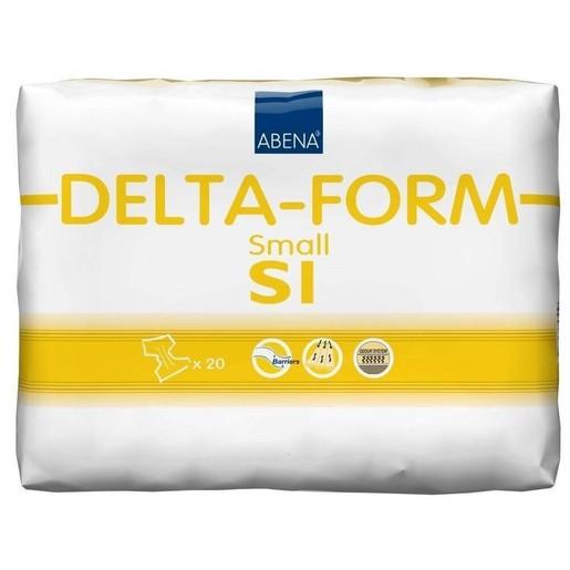 Abena Delta-Form Adults Πάνα για Βαριάς Μορφής Ακράτεια Ενηλίκων Μικρό Μέγεθος 60-80cm Delta S1 20τεμάχια
