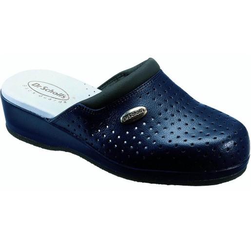 Dr Scholl Shoes Back Guard Σαμπό Μπλε Αναπαυτικά Παπούτσια που Χαρίζουν Σωστή Στάση & Φυσικό Χωρίς Πόνο Βάδισμα 1 Ζευγάρι
