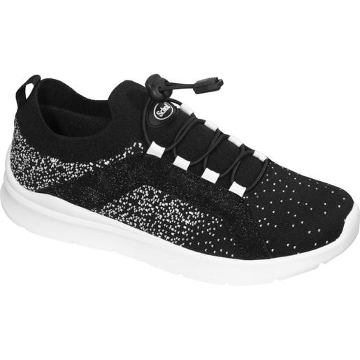 Scholl Shoes Saturn F291281004 Black Ανατομικά Παπούτσια, Χαρίζουν Σωστή Στάση & Φυσικό, Χωρίς Πόνο Βάδισμα 1 Ζευγάρι