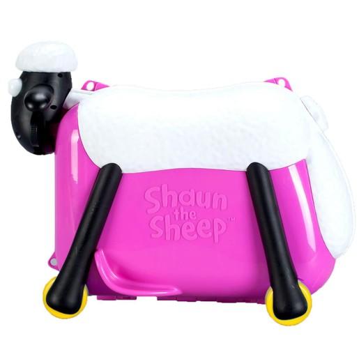 Shaun the Sheep Βαλίτσα σε Φούξια Χρώμα