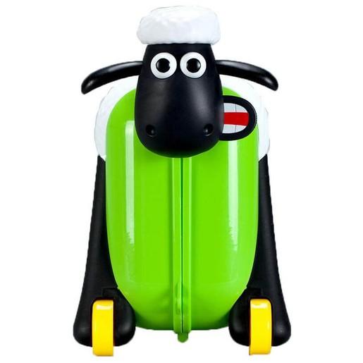 Shaun the Sheep Βαλίτσα σε Πράσινο Χρώμα