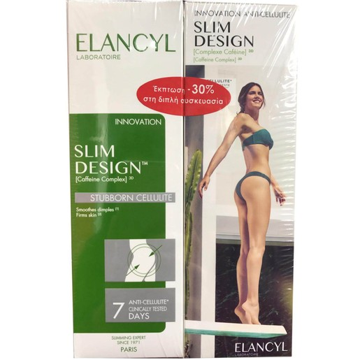 Elancyl Slim Design 2x200ml Promo -30%
