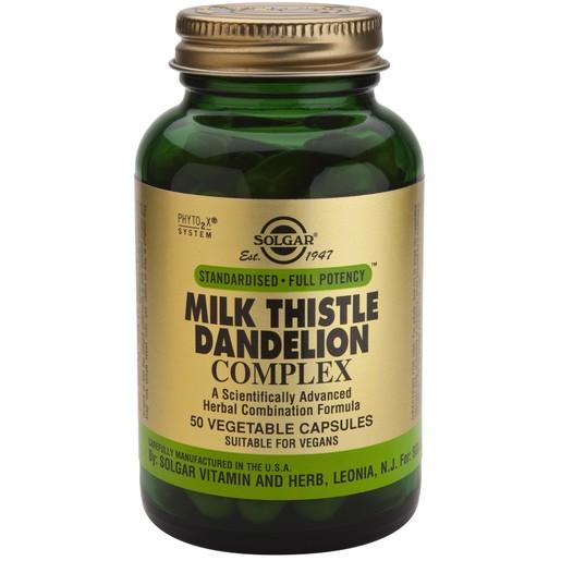 Solgar Sfp Milk Thistle / Dandelion Complex 50 veg.caps