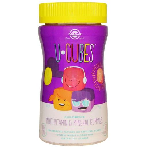 Solgar U Cubes Children\'s MultiVitamin & Mineral 60 gummies